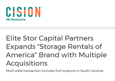 elite stor expands sroa with multiple acquisitions