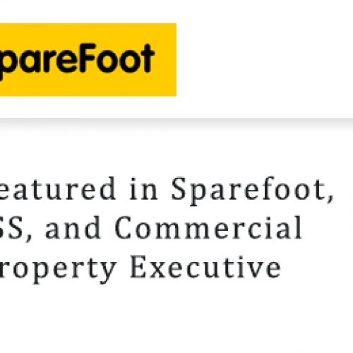 Featured in Sparefoot, ISS, and Commercial Property Executive
