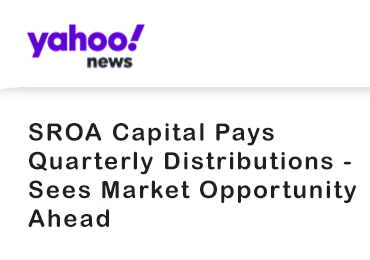 SROA Capital Pays Quarterly Distributions
