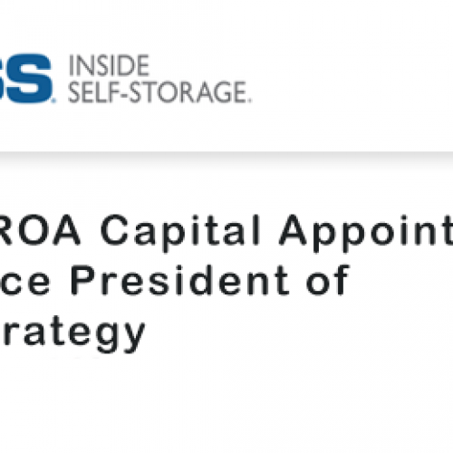 SROA Capital Appoints Vice President of Strategy