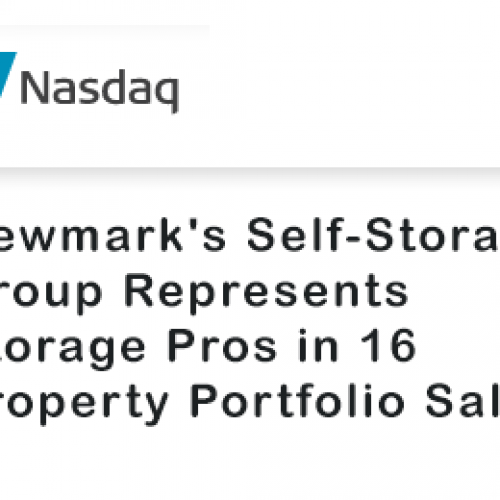 Newmark's Self Storage Group Represents Storage Pros in 16-Property Portfolio Sale